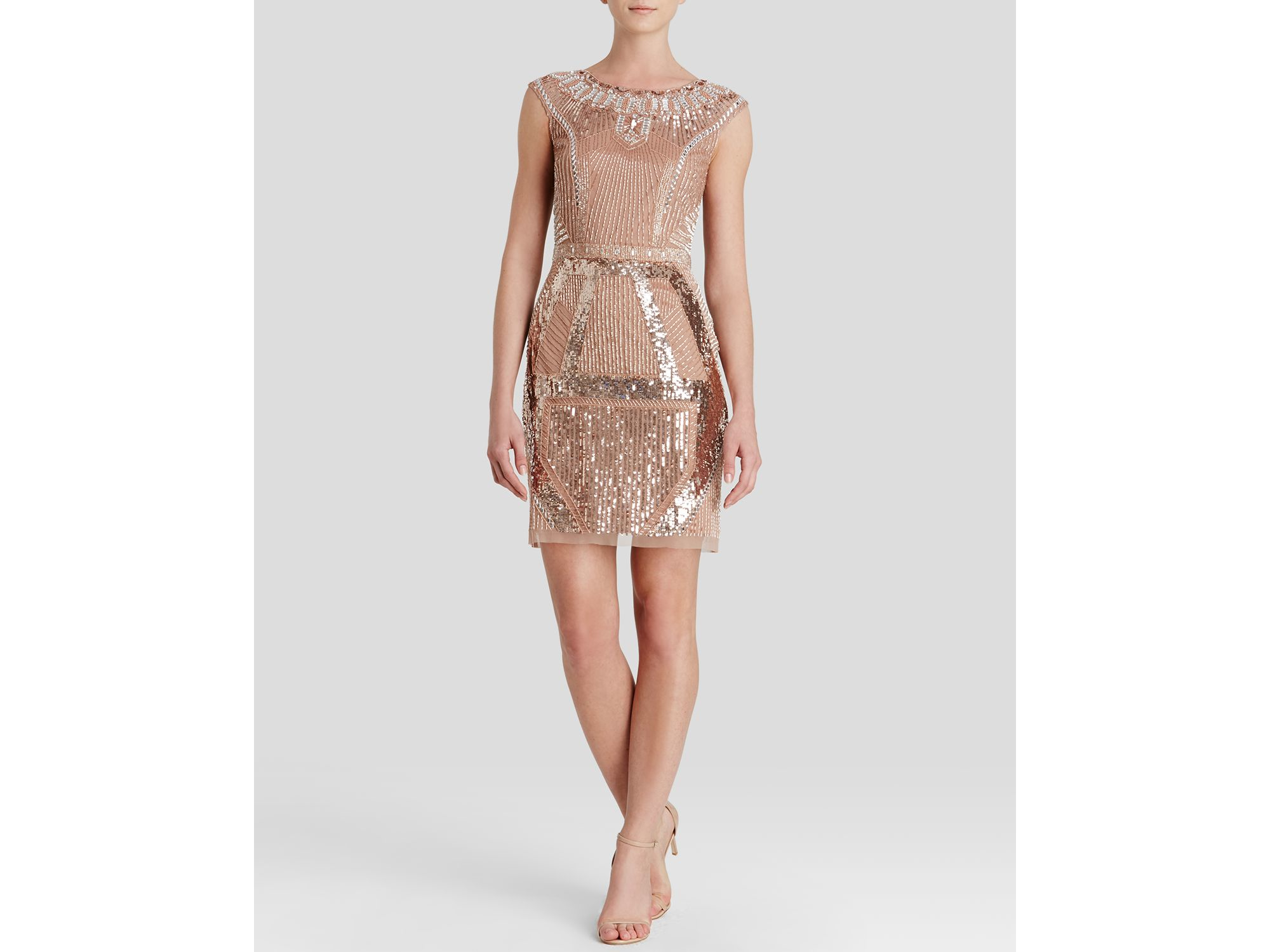 Boat-neck sequin and bead-embellished mini dress Valentino Clearance Find Great Sale With Credit Card Online For Sale Footaction Cheap Online TMeBy