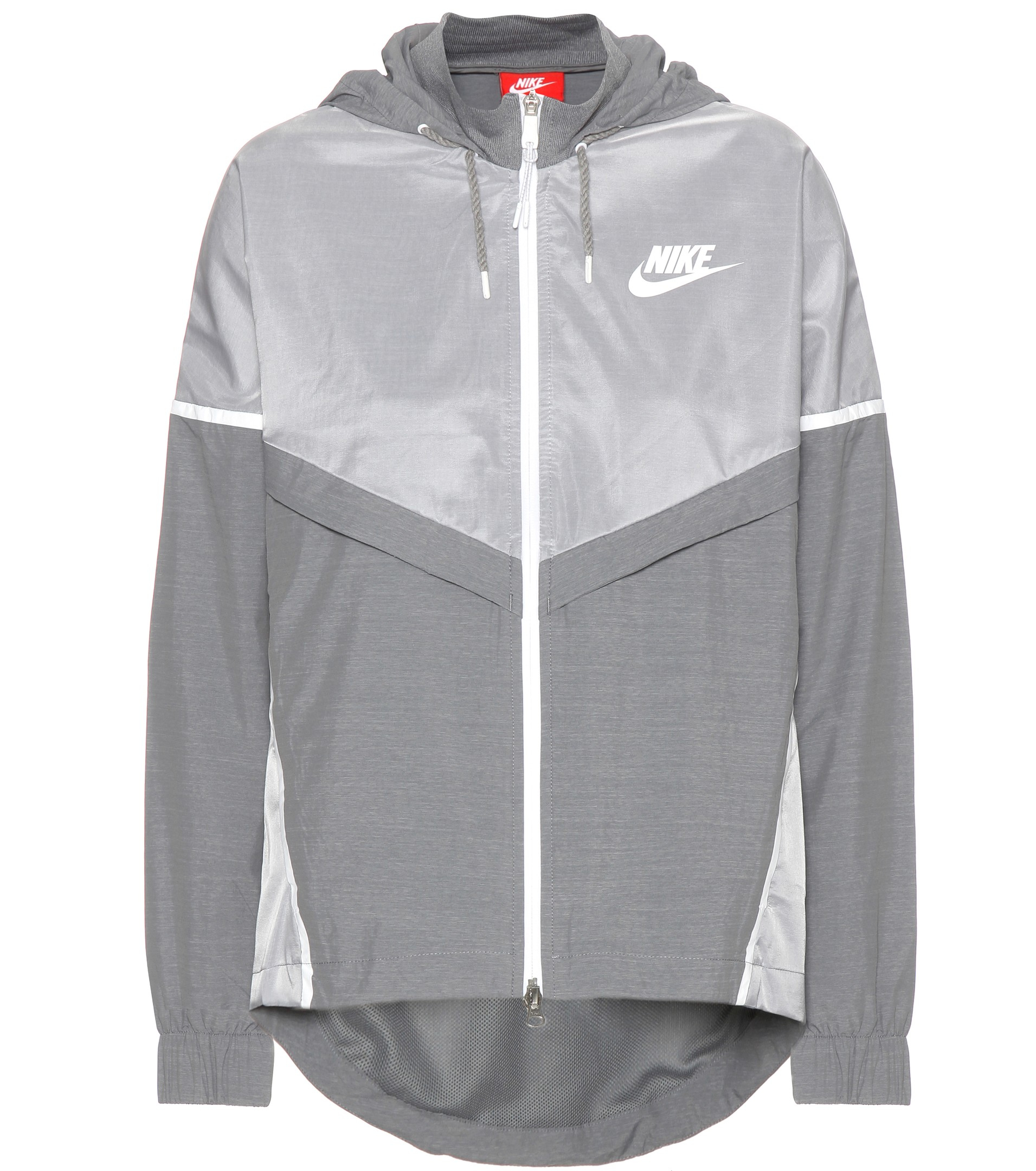 Nike jacket grey and white - Gallery