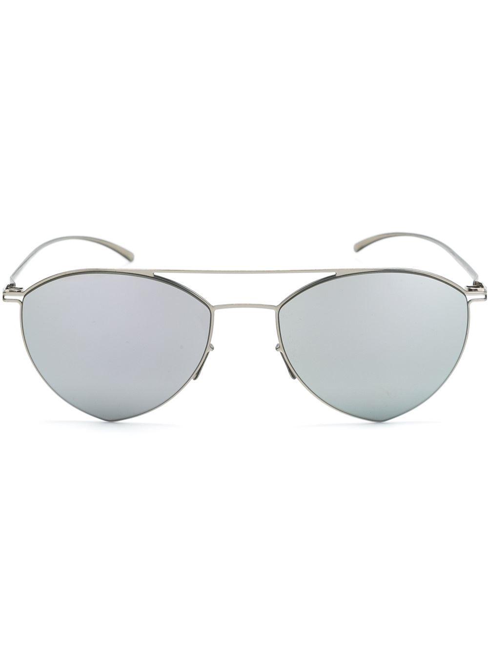 Mykita x Maison Margiela square sunglasses - Metallic Mykita 14kEbMsPwB
