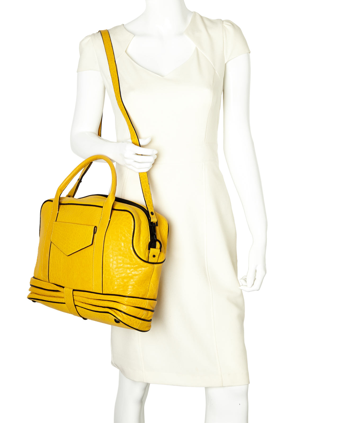 4025d6db567a Lyst - Fabiola Pedrazzini Yellow Large Losna Satchel in Yellow