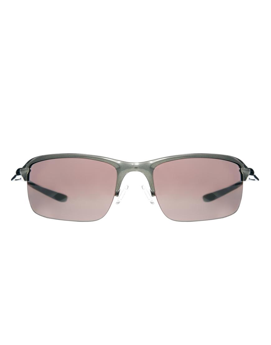 1fcf942d03f0c Oakley Wiretap Polarized Sunglasses in Gray for Men - Lyst