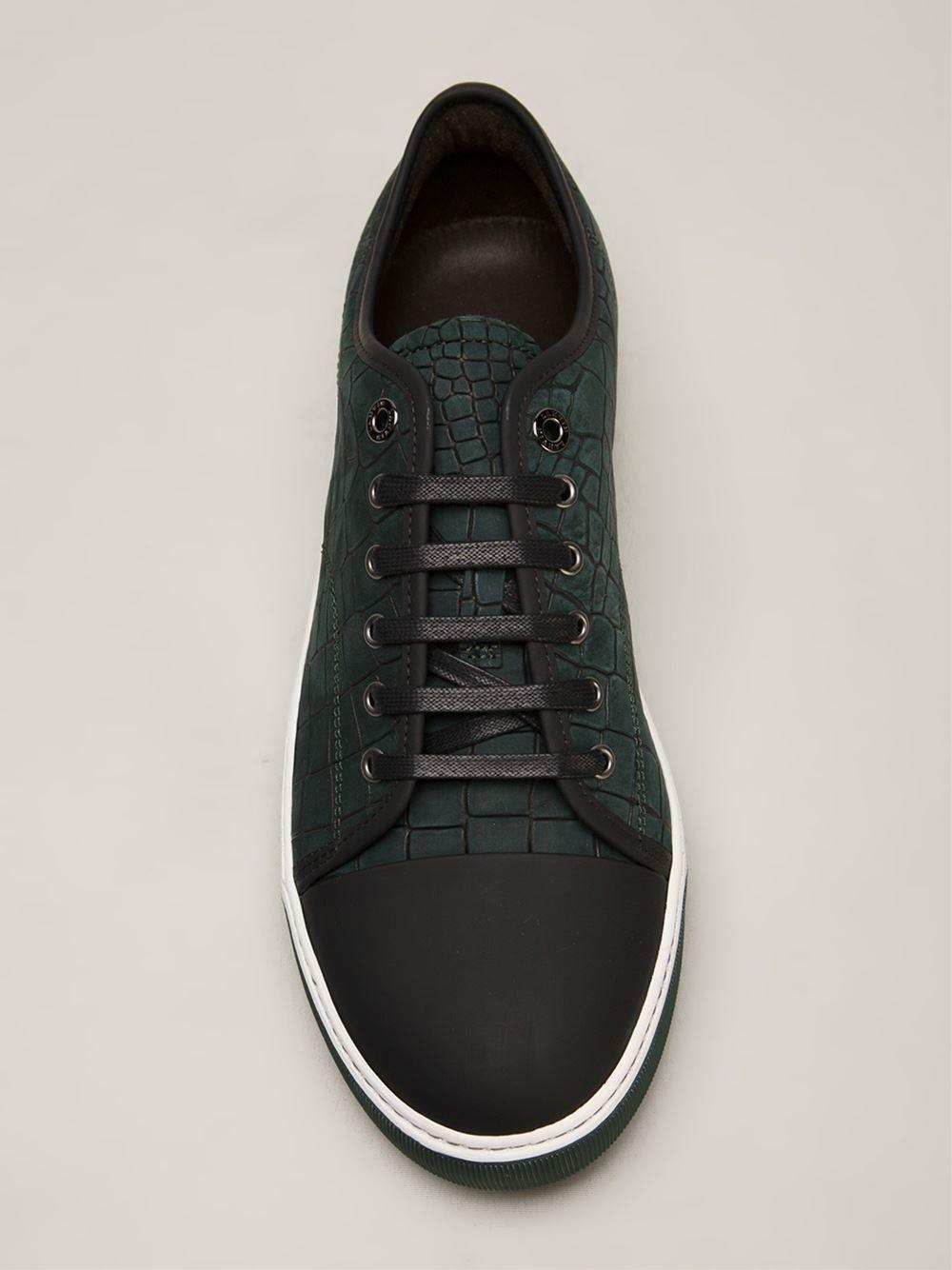 embossed slip-on sneakers - White Lanvin 8dahi