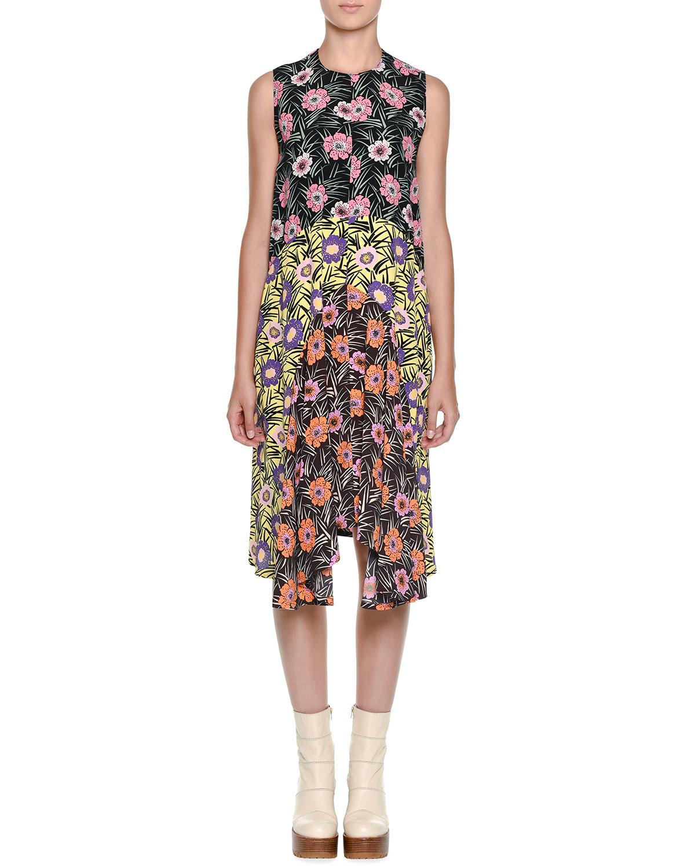 Floral Print Dress Marni pXmTt1UMOO