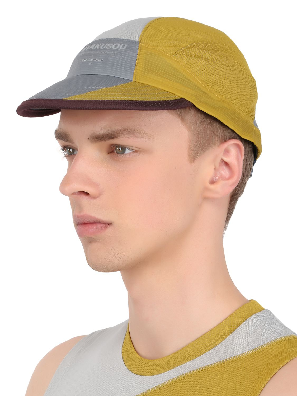 7be146de0e2f7 uk lyst nike drifit mesh running hat in yellow for men 40ff3 5cc5c