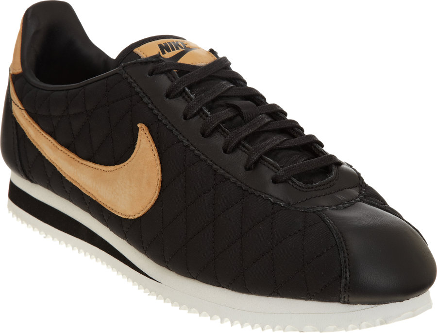 nike classic cortez nylon premium qs in black for men lyst. Black Bedroom Furniture Sets. Home Design Ideas