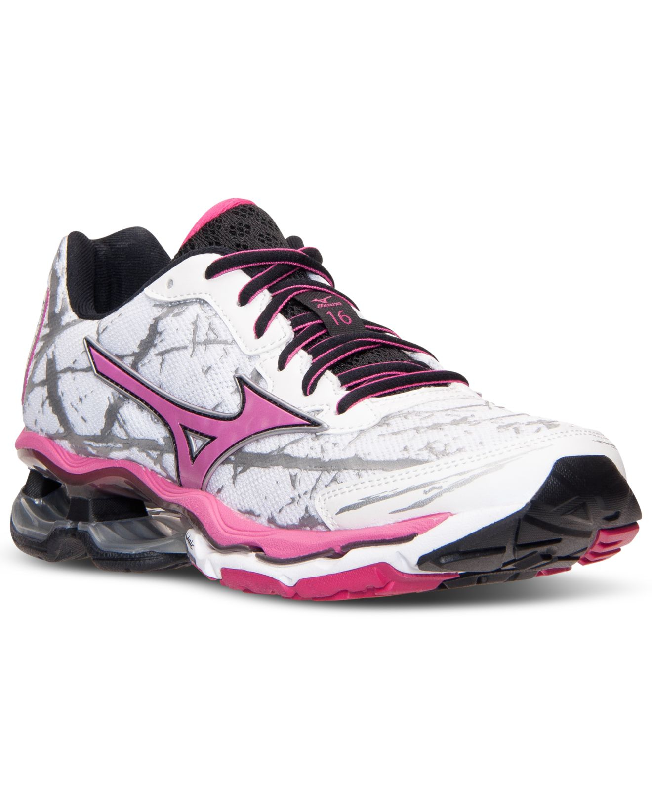 Mizuno Purple Running Shoe