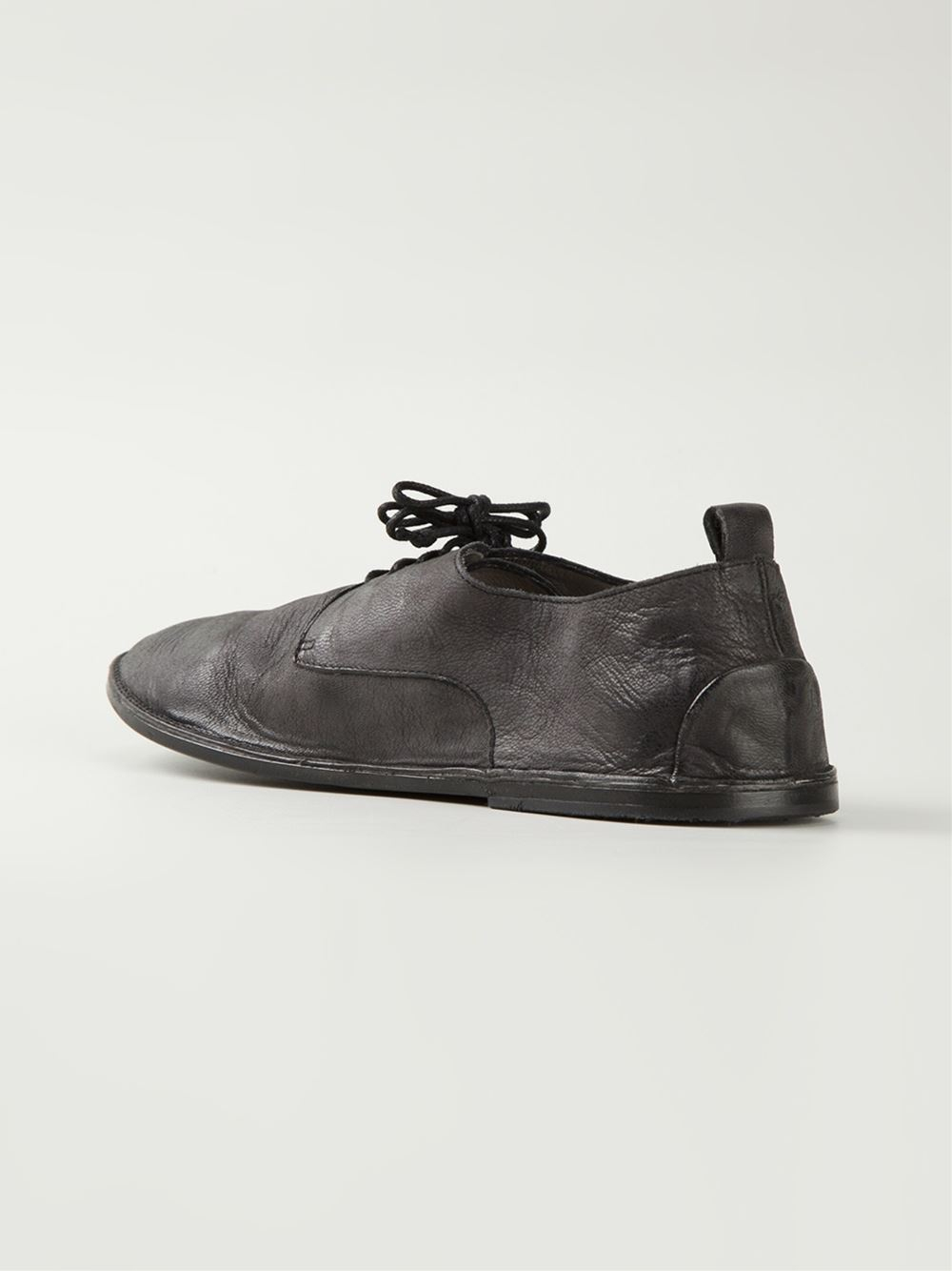 distressed Derby shoes - Grey Mars hpbMNrP