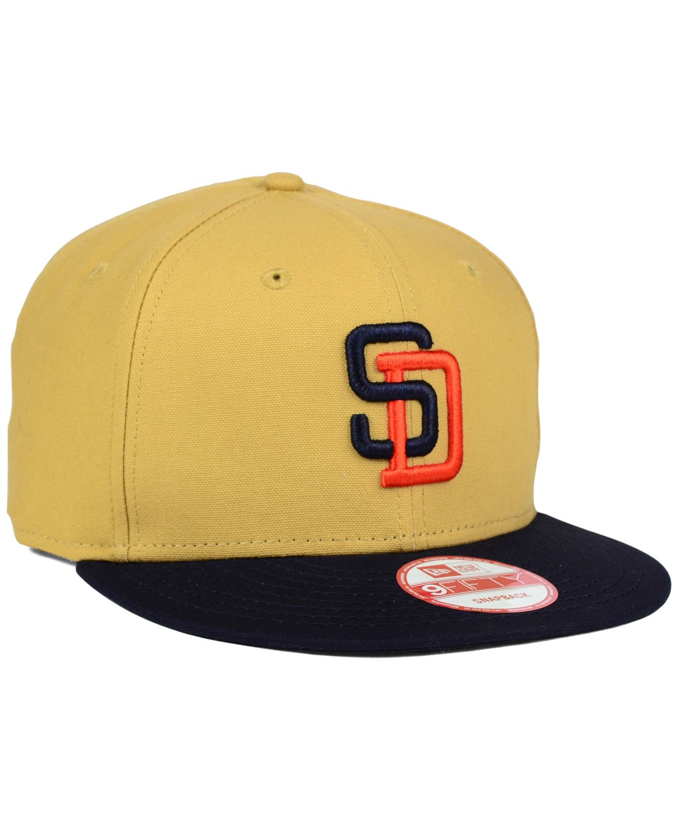 check out 60f0f a6419 spain new era mlb heather graphite 9fifty snapback cap 9967a 568d4   netherlands lyst ktz san diego padres classic canvas 9fifty snapback cap in  c972b 26593