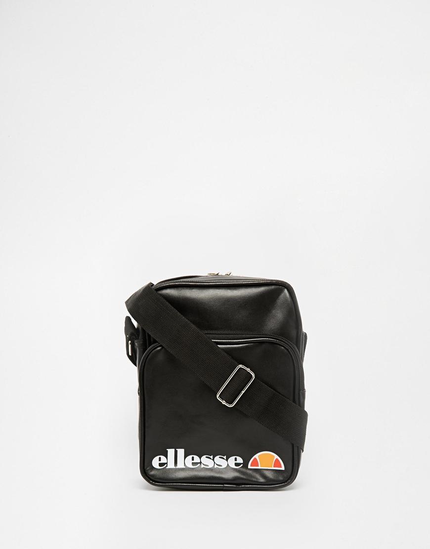 7743745ecf Lyst - Ellesse Flight Bag in Black for Men