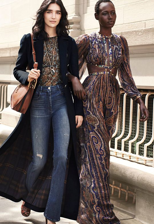 Lyst - Zimmermann Studded Cut Out Paisley Print Gown in Brown