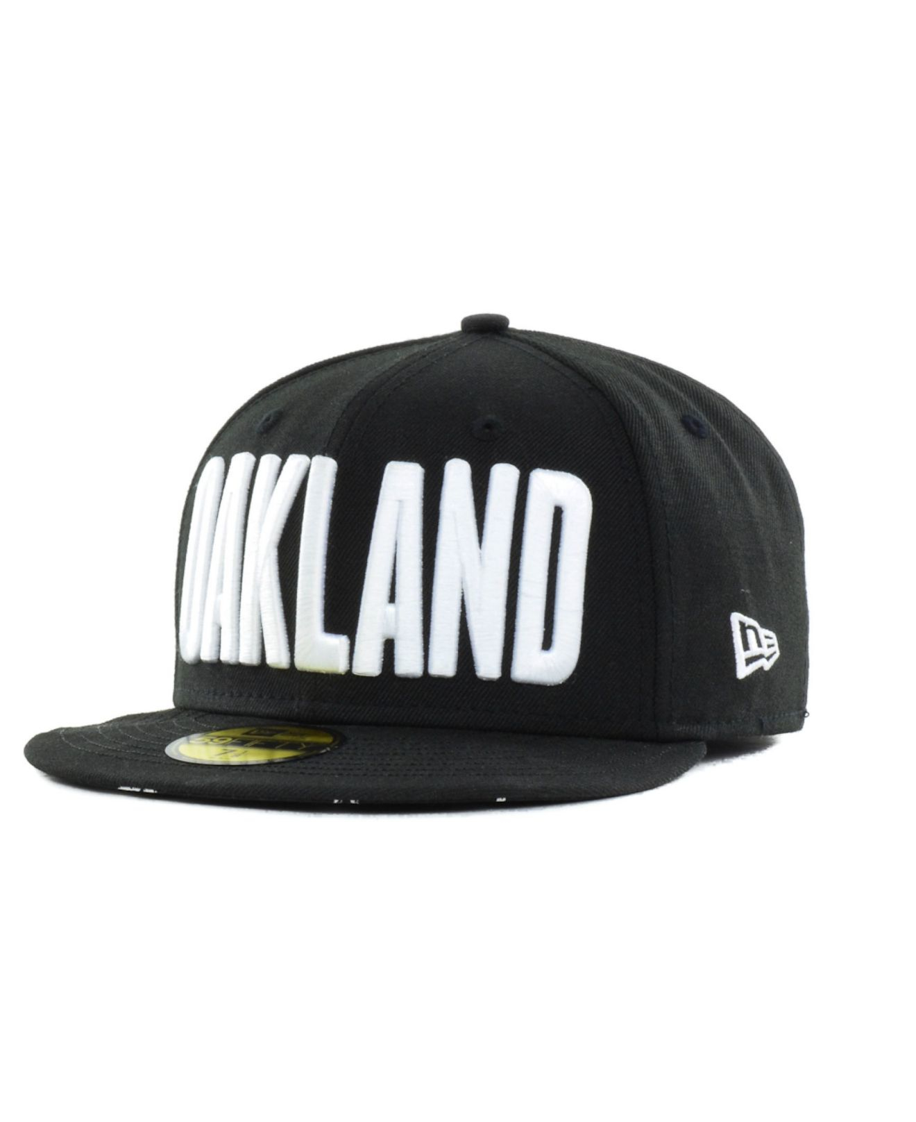 0176c843254 ... new zealand lyst ktz oakland athletics big gps 59fifty cap in black for  men abefd 763f5
