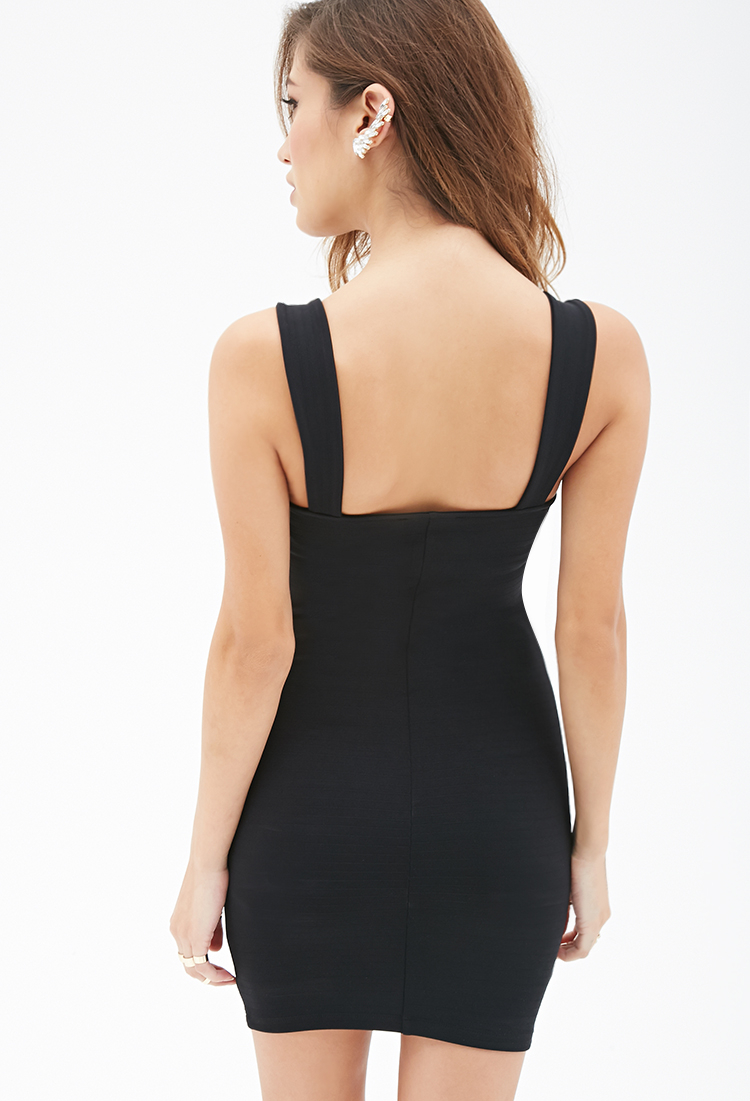 Black bodycon dress forever 21 united states evening wear sites