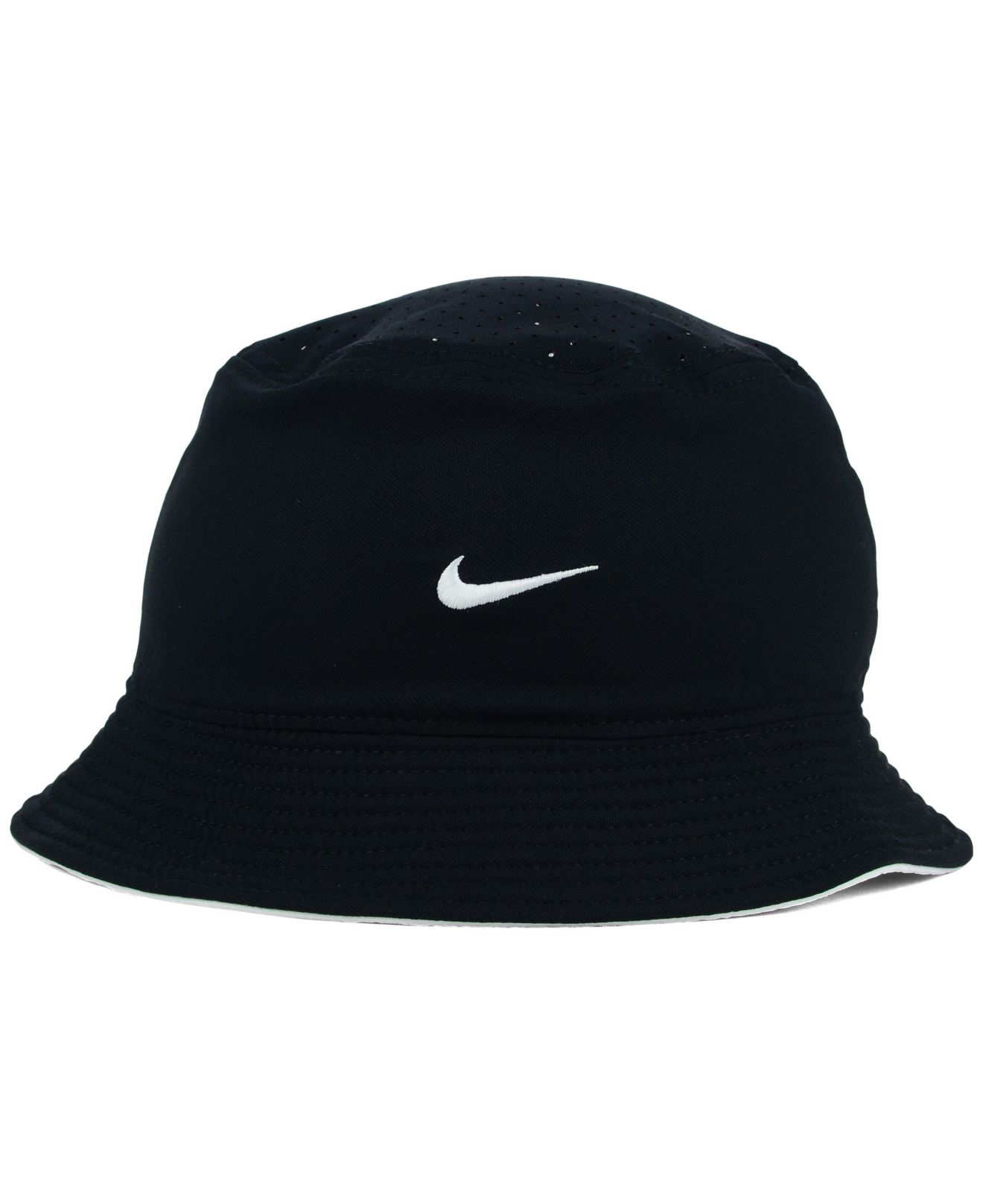 White Nike Bucket Hat