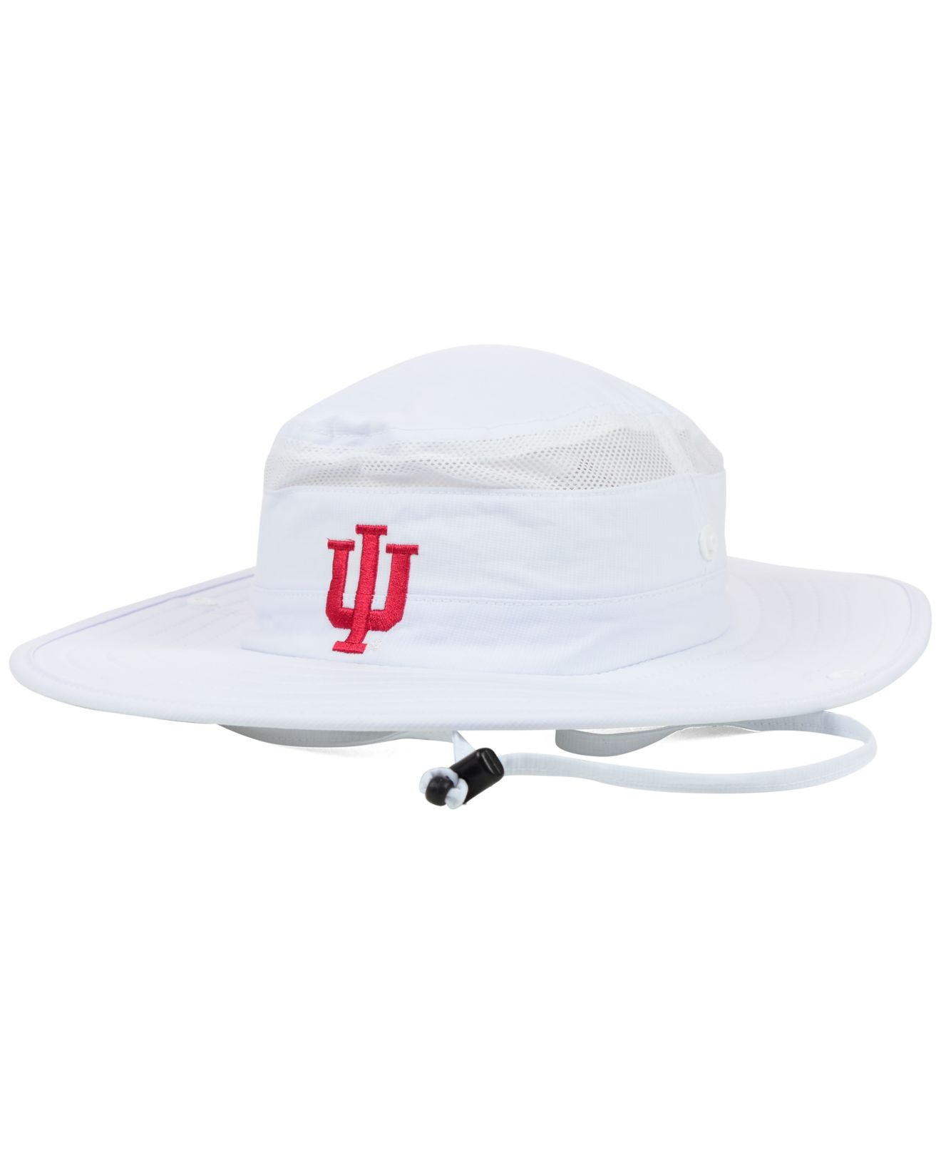 dcef8dcc7fb33 Lyst - adidas Indiana Hoosiers Campus Safari Hat in White for Men
