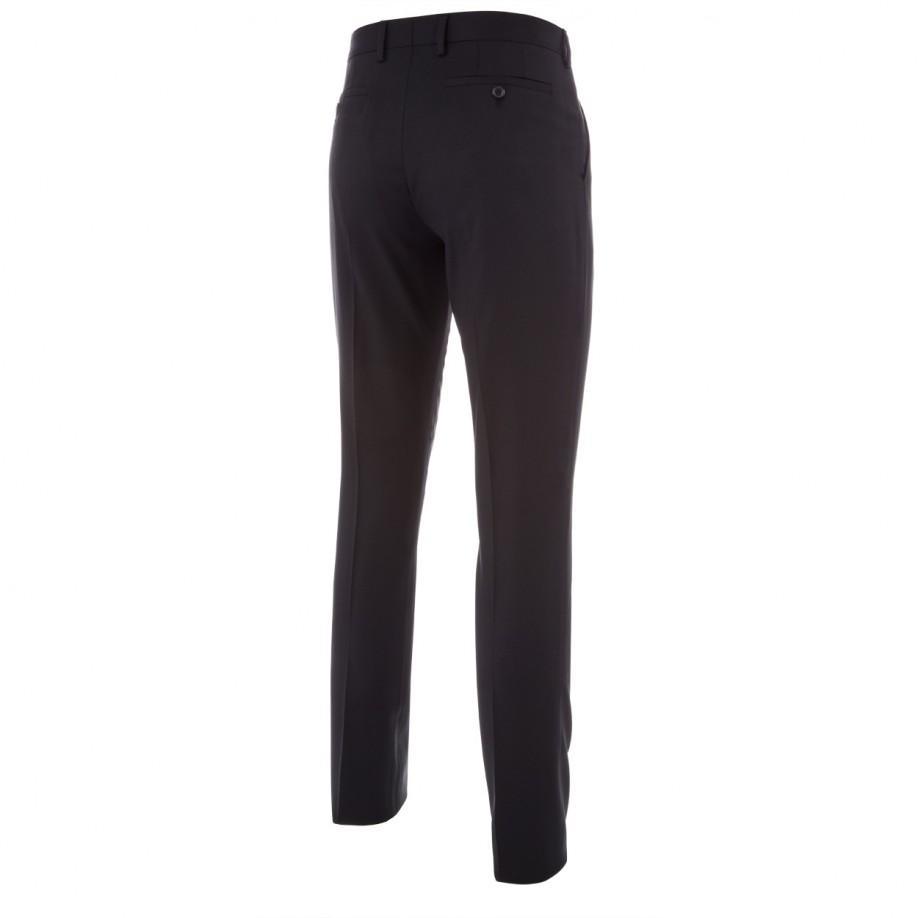 Paul smith Men's Slim-fit Black Wool-twill Trousers in ...