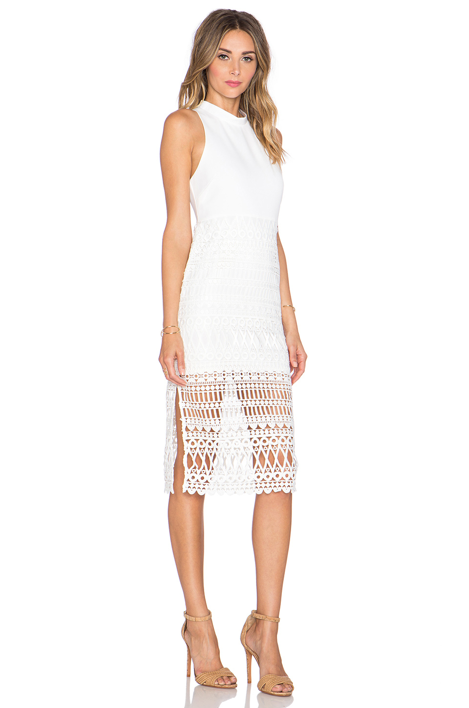 White dress crochet - Gallery Previously Sold At Revolve Women S Crochet Dresses Women S White Cocktail Dresses