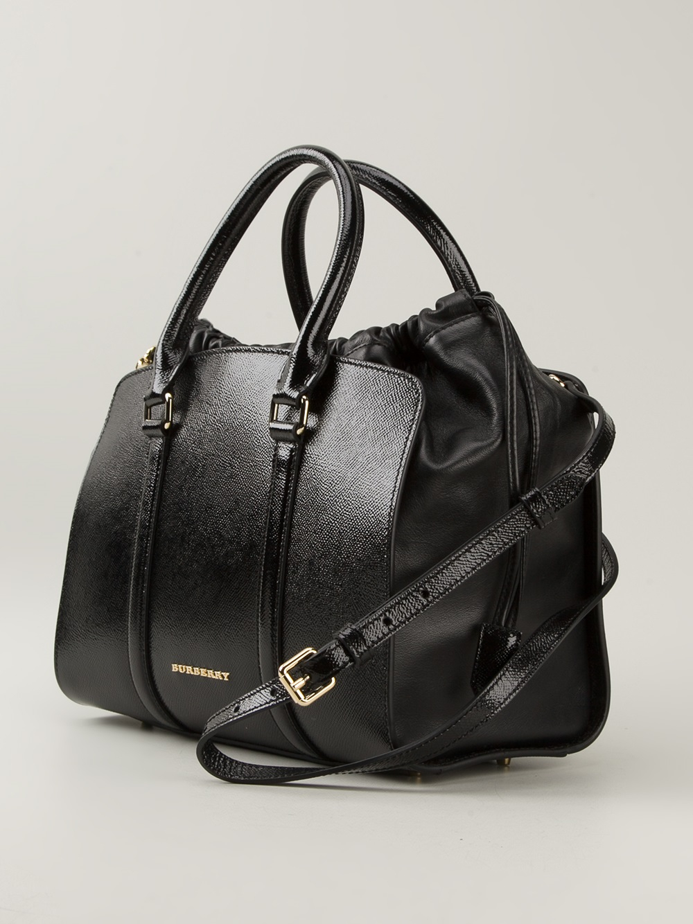 Lyst - Burberry Dinton Tote in Black 02d373483f058