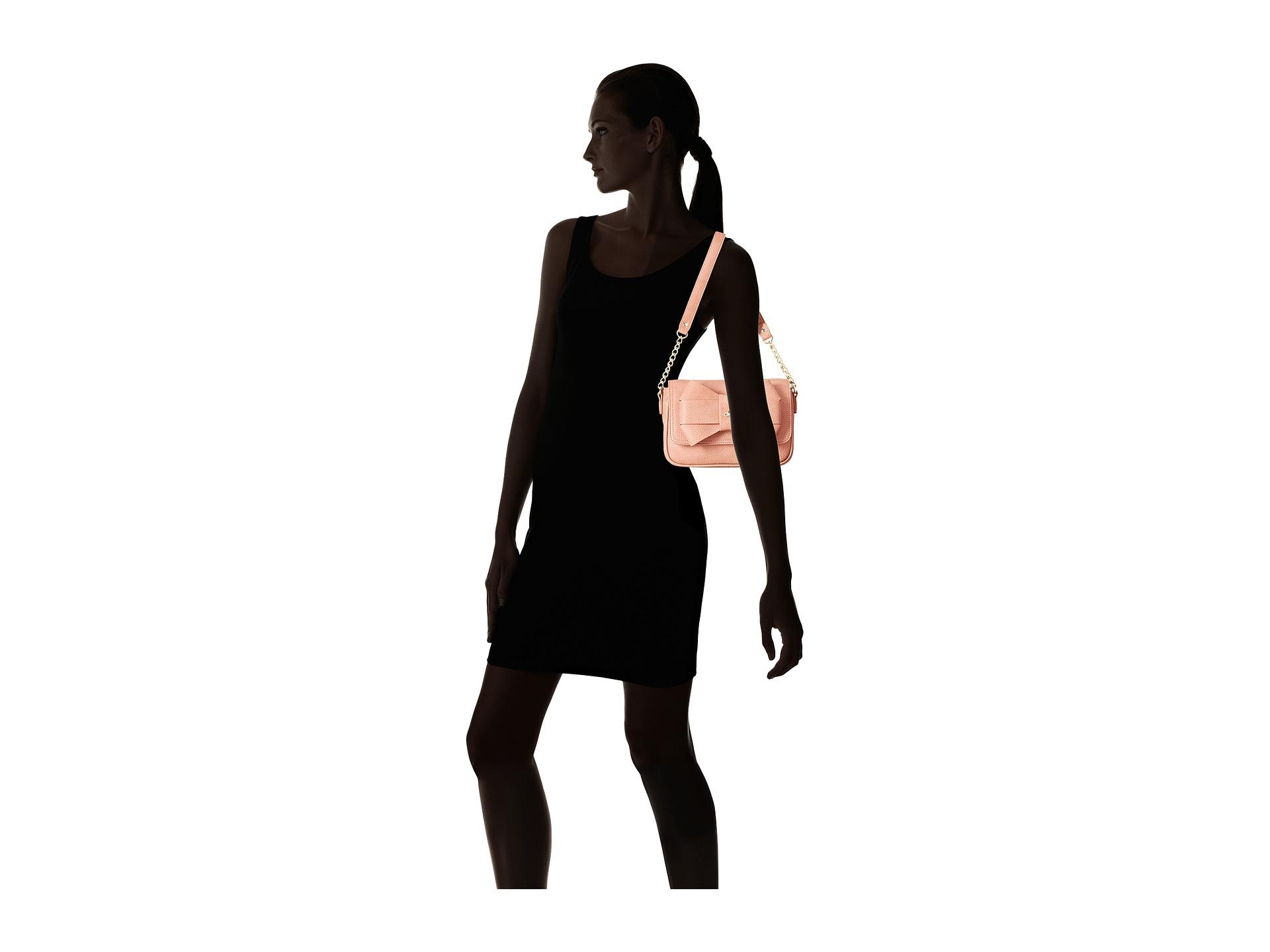 488b4229f3a6 Lyst - Vivienne Westwood Bow Shoulder Bag W  Chain in Pink