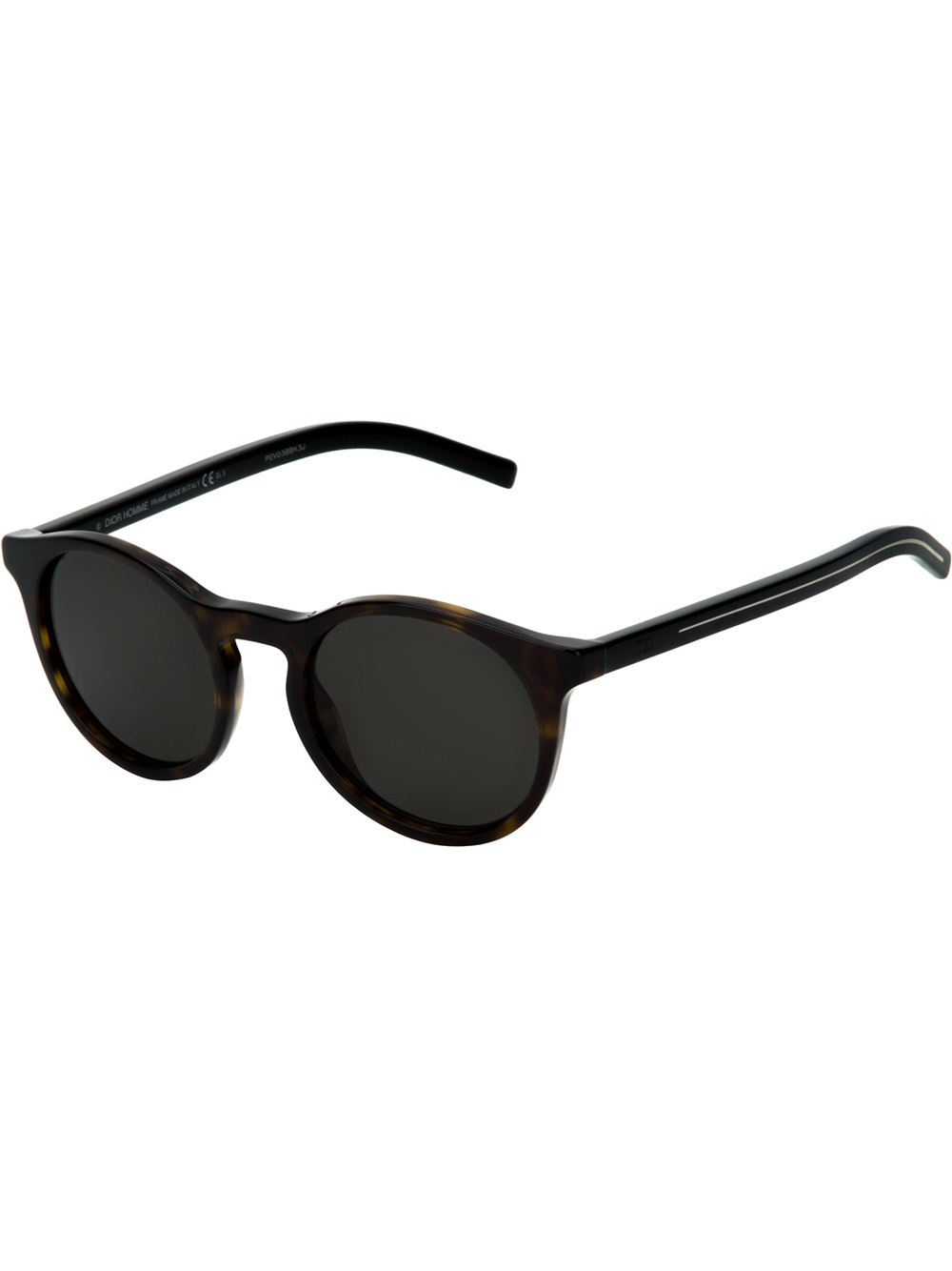 Lyst - Dior Homme Round Frame Sunglasses in Black for Men