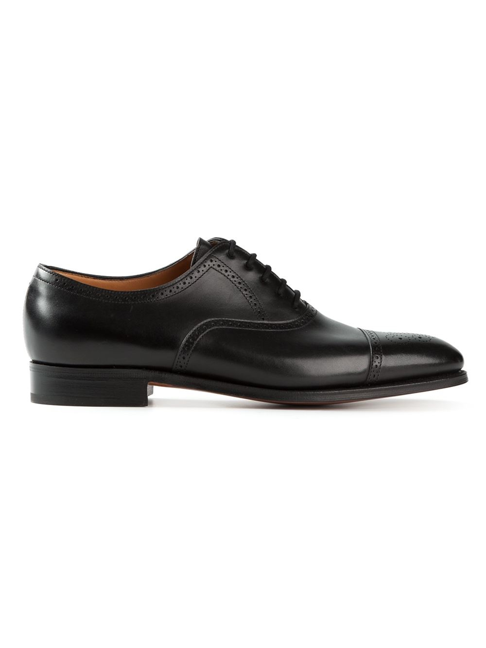 Lyst John Lobb Saunton Oxford Shoes In Black For Men