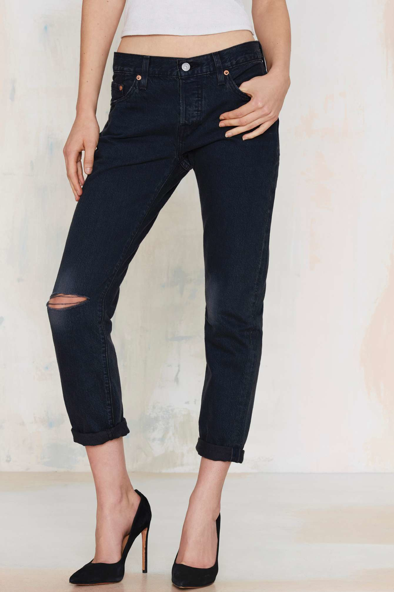 Black 501 Jeans Ct Lyst Heyday In Gal Nasty Levi's wOPXNn0kZ8