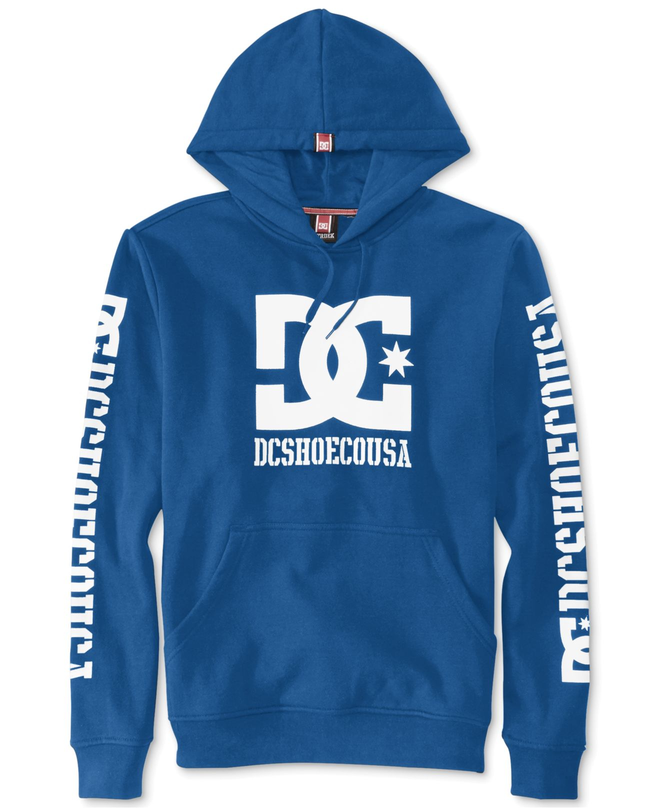 708453676 DC Shoes Rob Dyrdek Usa 2 Pullover Hoodie in Blue for Men - Lyst