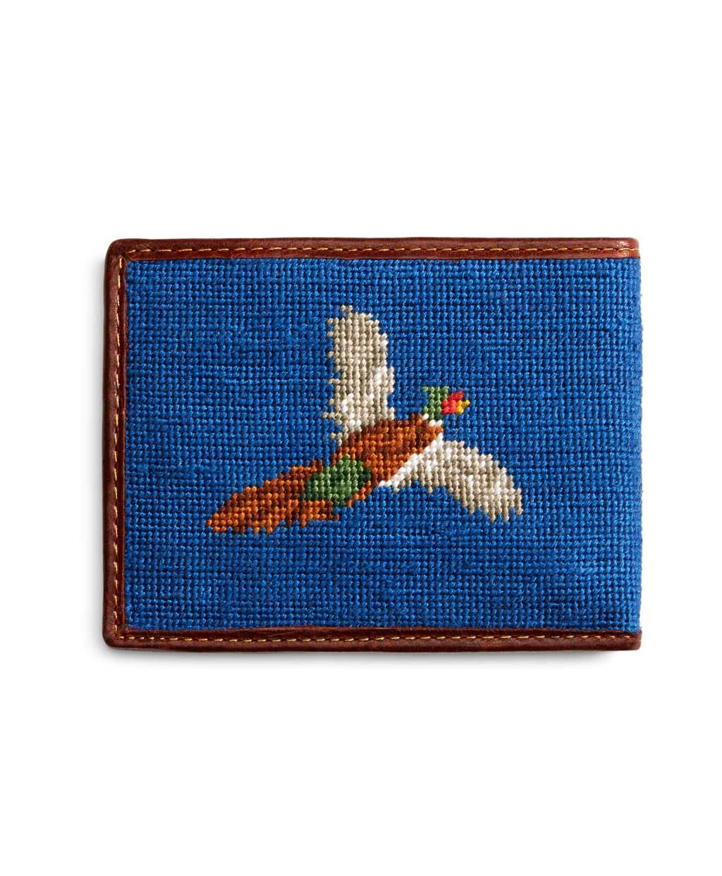 Lyst Brooks Brothers Duck Hunting Needlepoint Wallet In