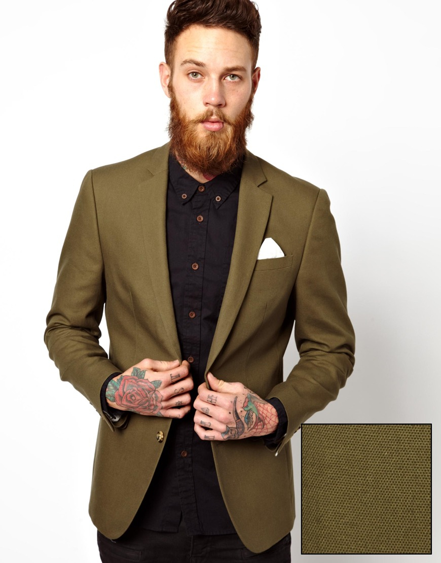 Jul 30,  · So I just bought a new khaki colored jacket this weekend. The jacket is a rich, khaki sort of color. Like coffee with a lot of milk. It's Theory - I know not everyone loves the brand, but the cut is perfect and the price was right ($).