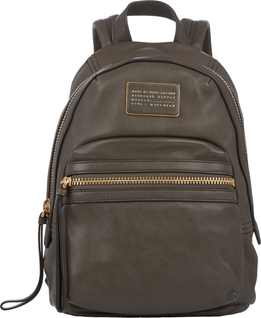 lyst marc by marc jacobs third rail backpack in green. Black Bedroom Furniture Sets. Home Design Ideas