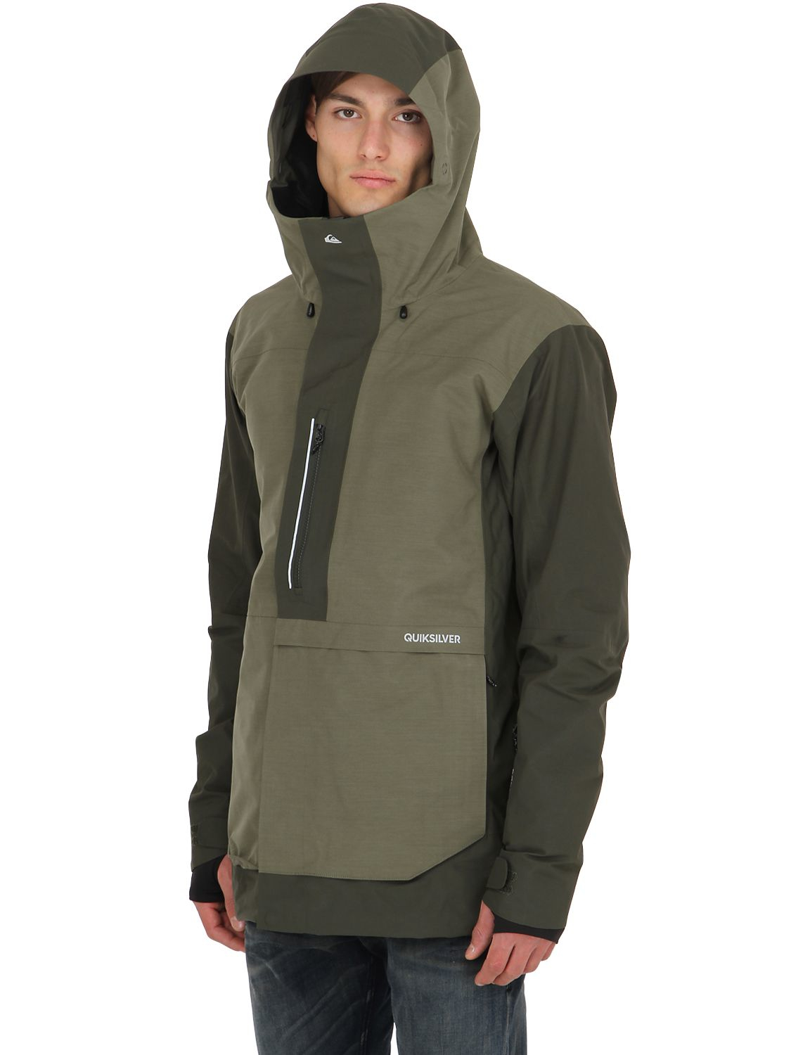 a629d3e292ca Quiksilver Travis Rice Exhibition Gore-tex Jacket in Green for Men ...