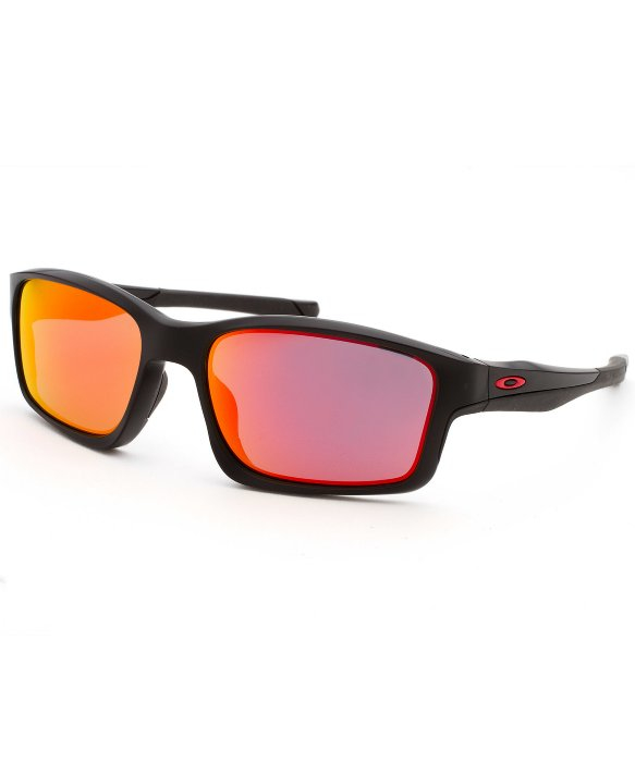 oakley mens chainlink rectangular eyeglasses