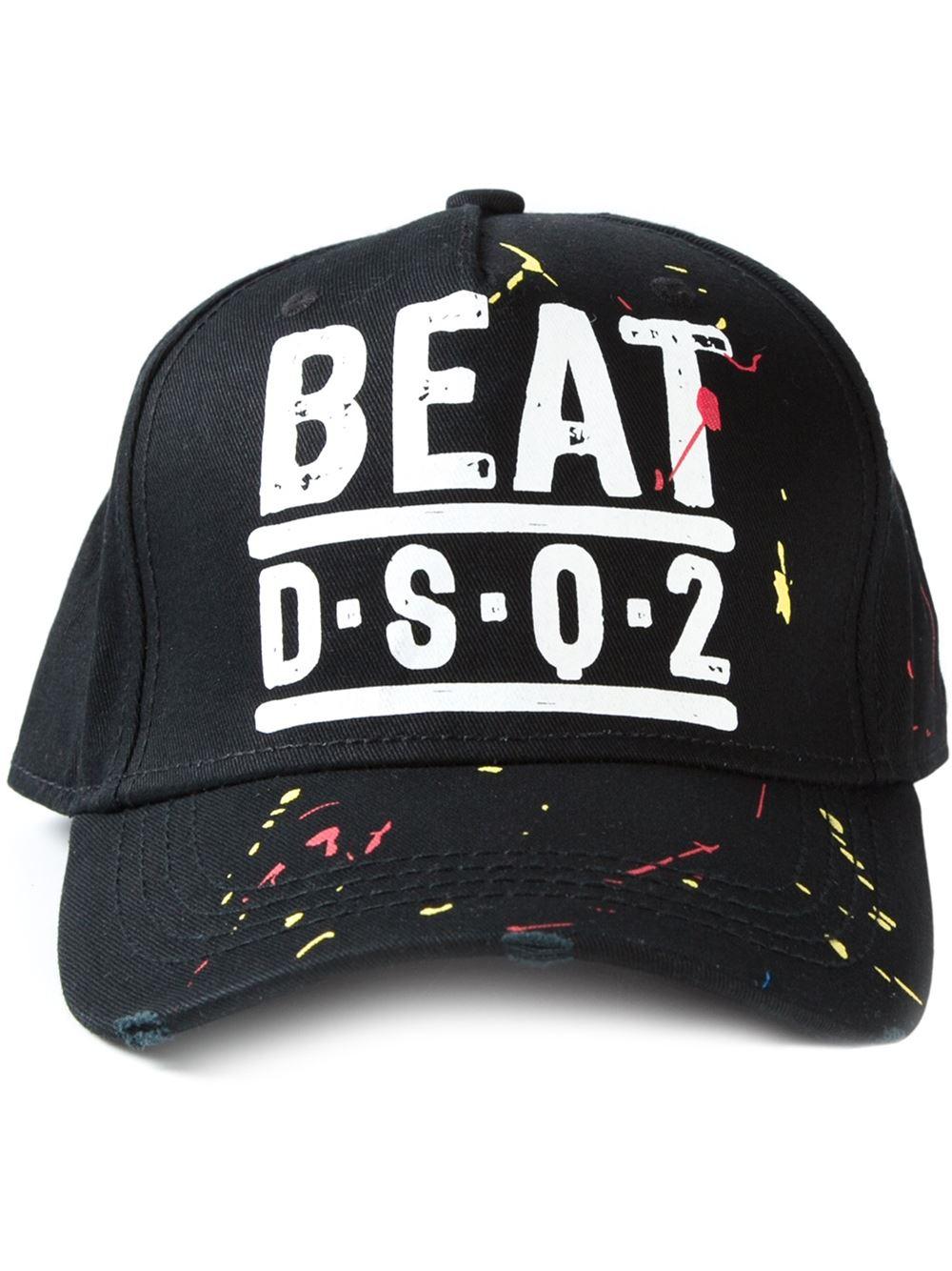 f832ff1b9c6c Lyst - DSquared² Baseball Cap in Black for Men