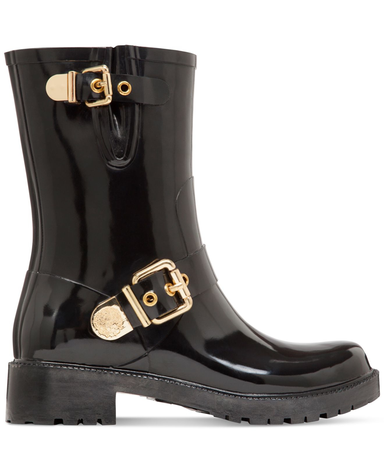 4bb0b453d005 Lyst - Vince Camuto Hinch Rain Boots in Black