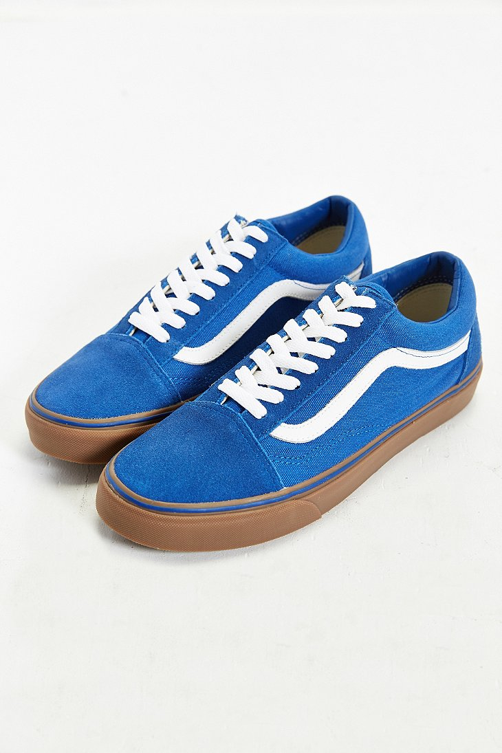vans old skool blue gum