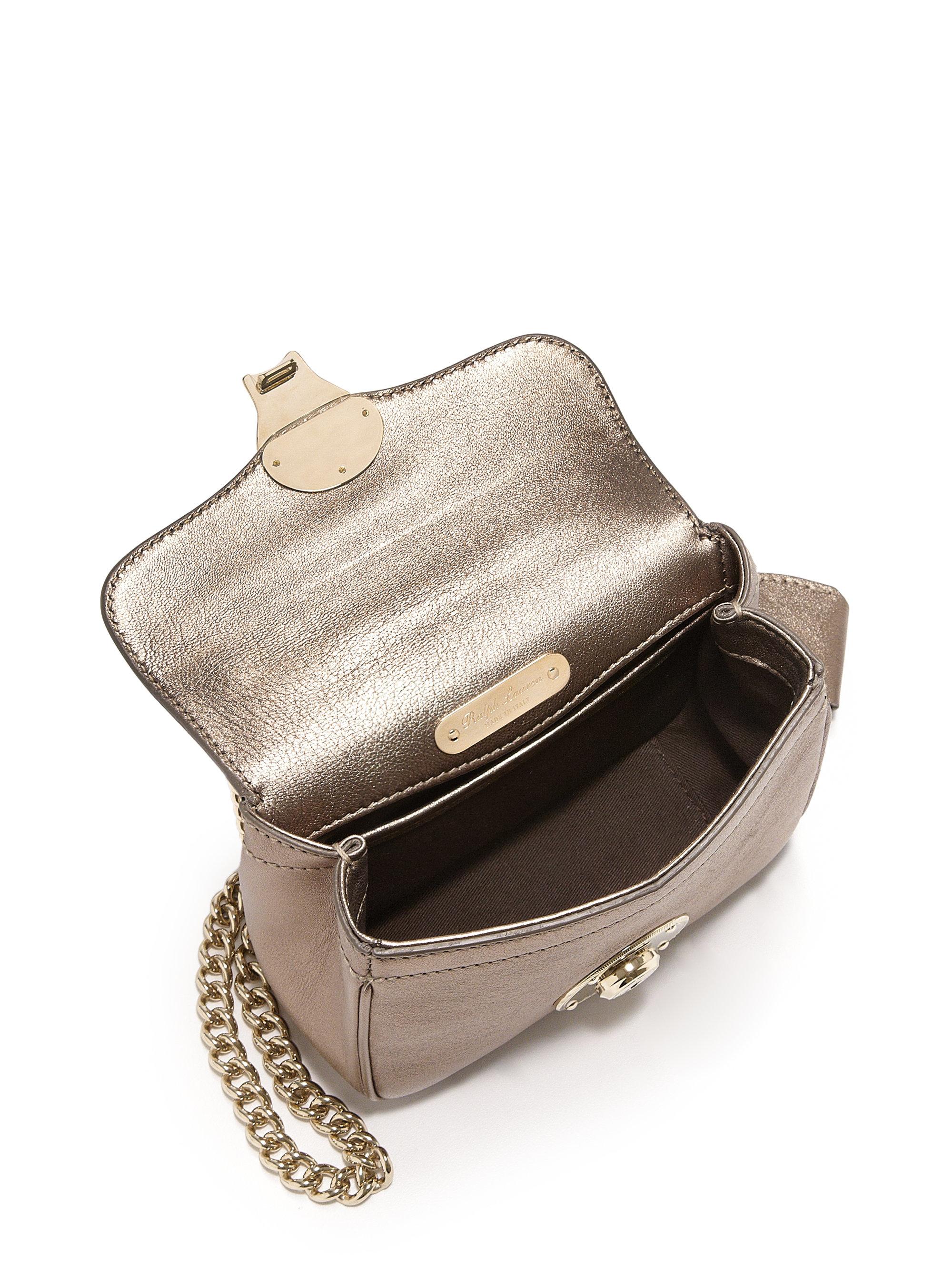 e1f0611c2389 Lyst - Pink Pony Ricky Mini Metallic Leather Crossbody Bag in Metallic