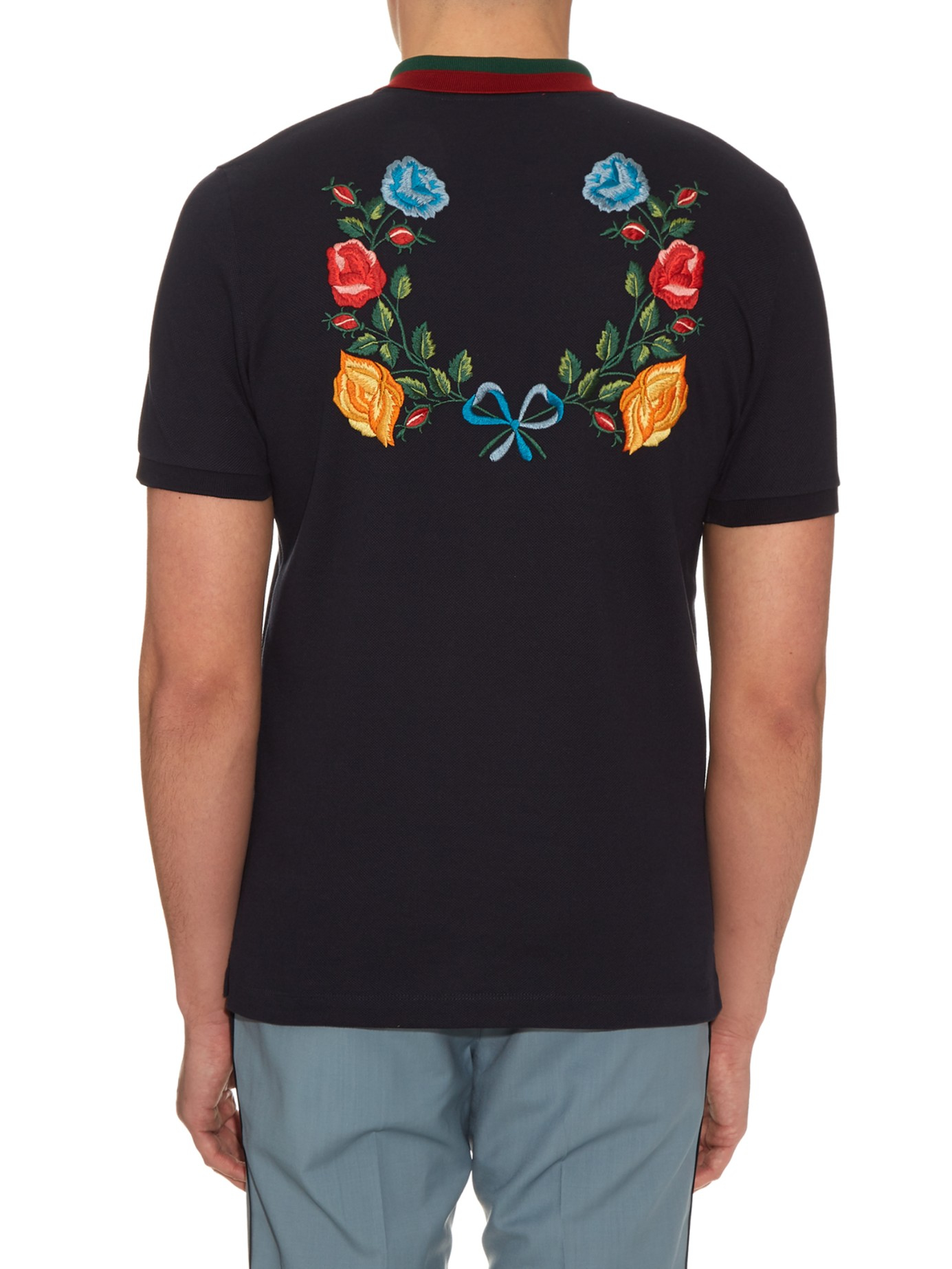 4fb5f475393c Gucci Polo T Shirt Sale