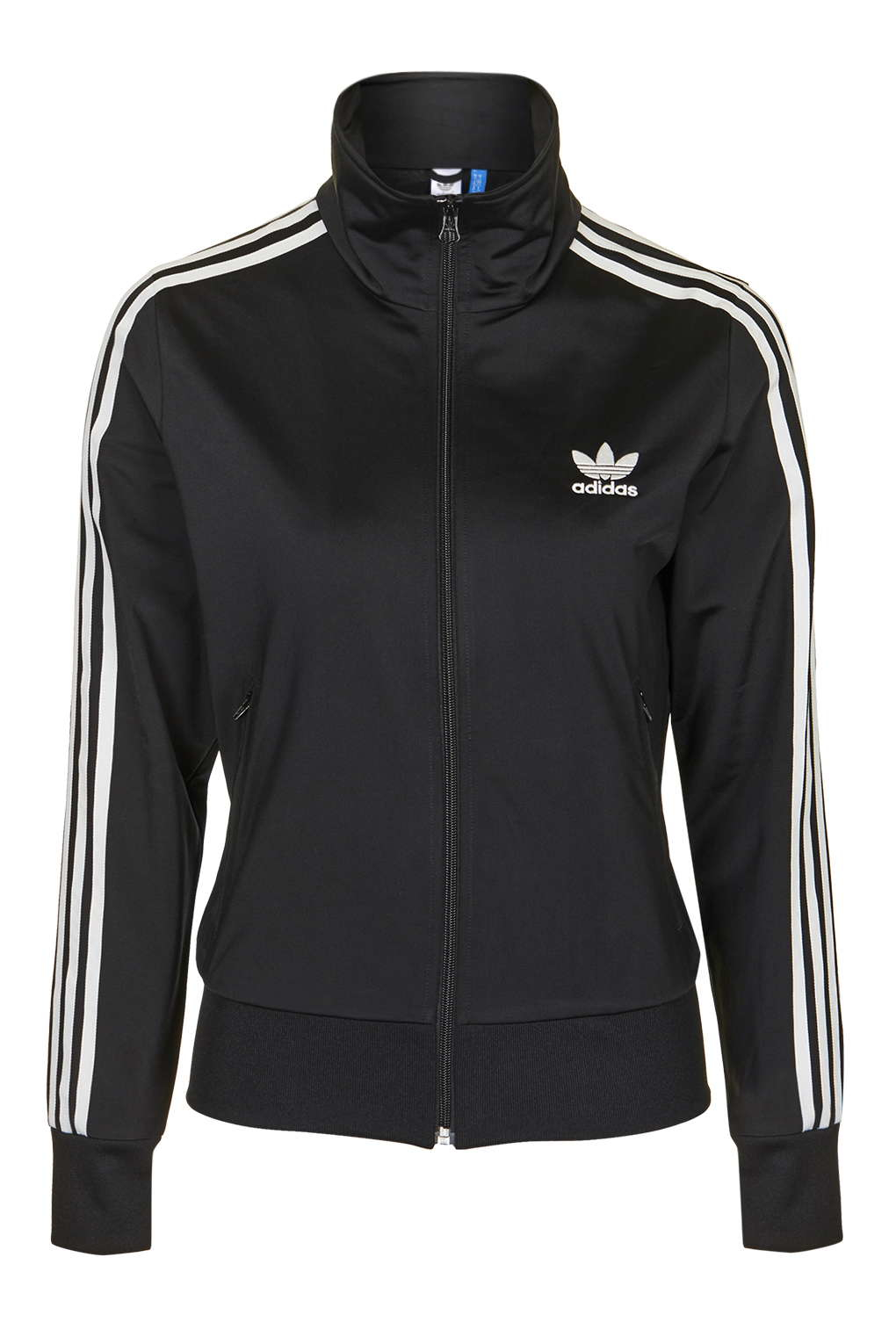 lyst topshop firebird track top jacket by adidas. Black Bedroom Furniture Sets. Home Design Ideas