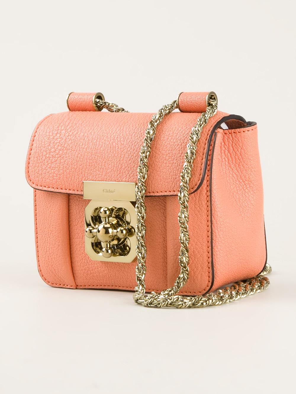 chloe embellished clutch