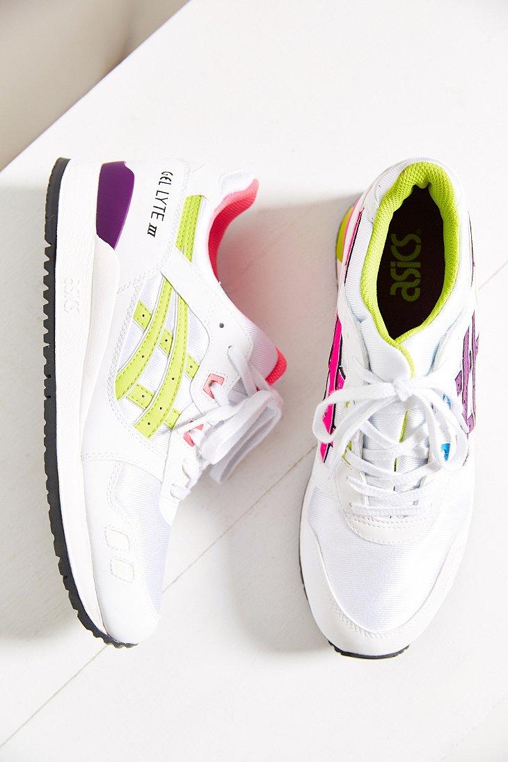 Lyst - Asics Gel-lyte Iii Womens Sneaker in Purple ac94c66aa