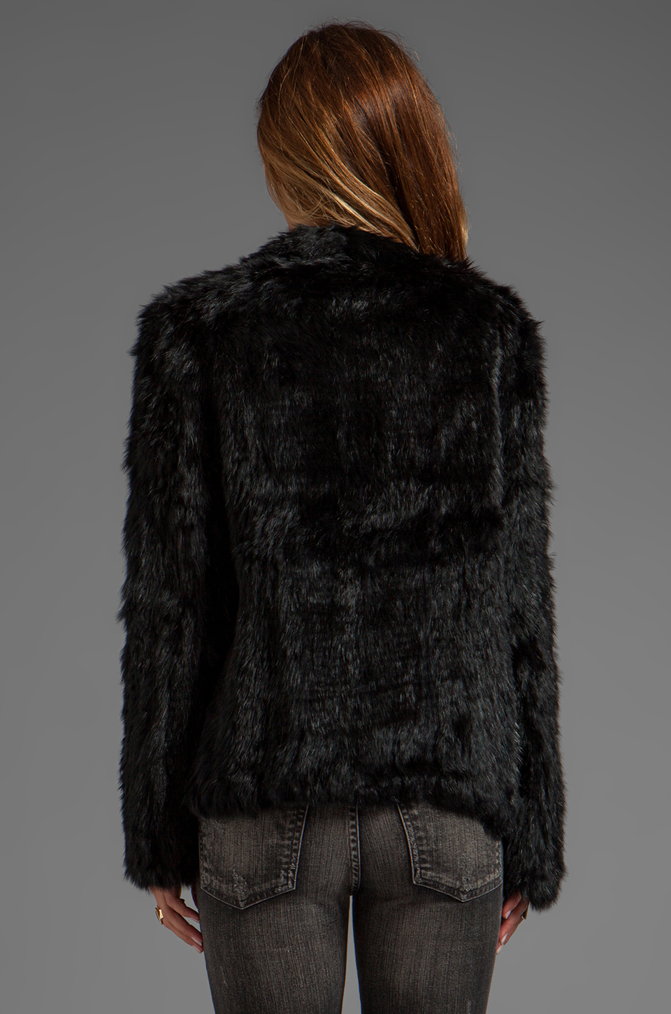 Buy Yves Salomon Black Knitted Rabbit Jacket on dexterminduwi.ga and get free shipping & returns in US. Long sleeve dyed rabbit fur jacket in black. Scoop neck collar. Hook closure at front. Tonal stitching.