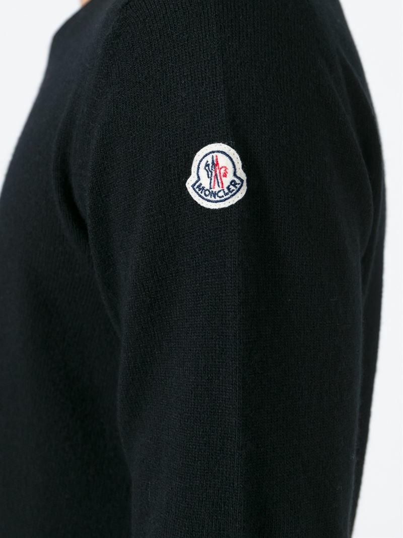 moncler green jumper