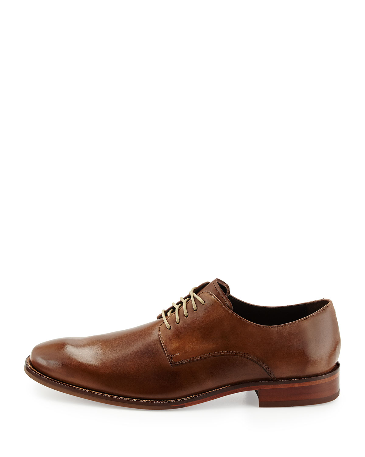 Cole Haan William Leather Lace Up Shoe Greige