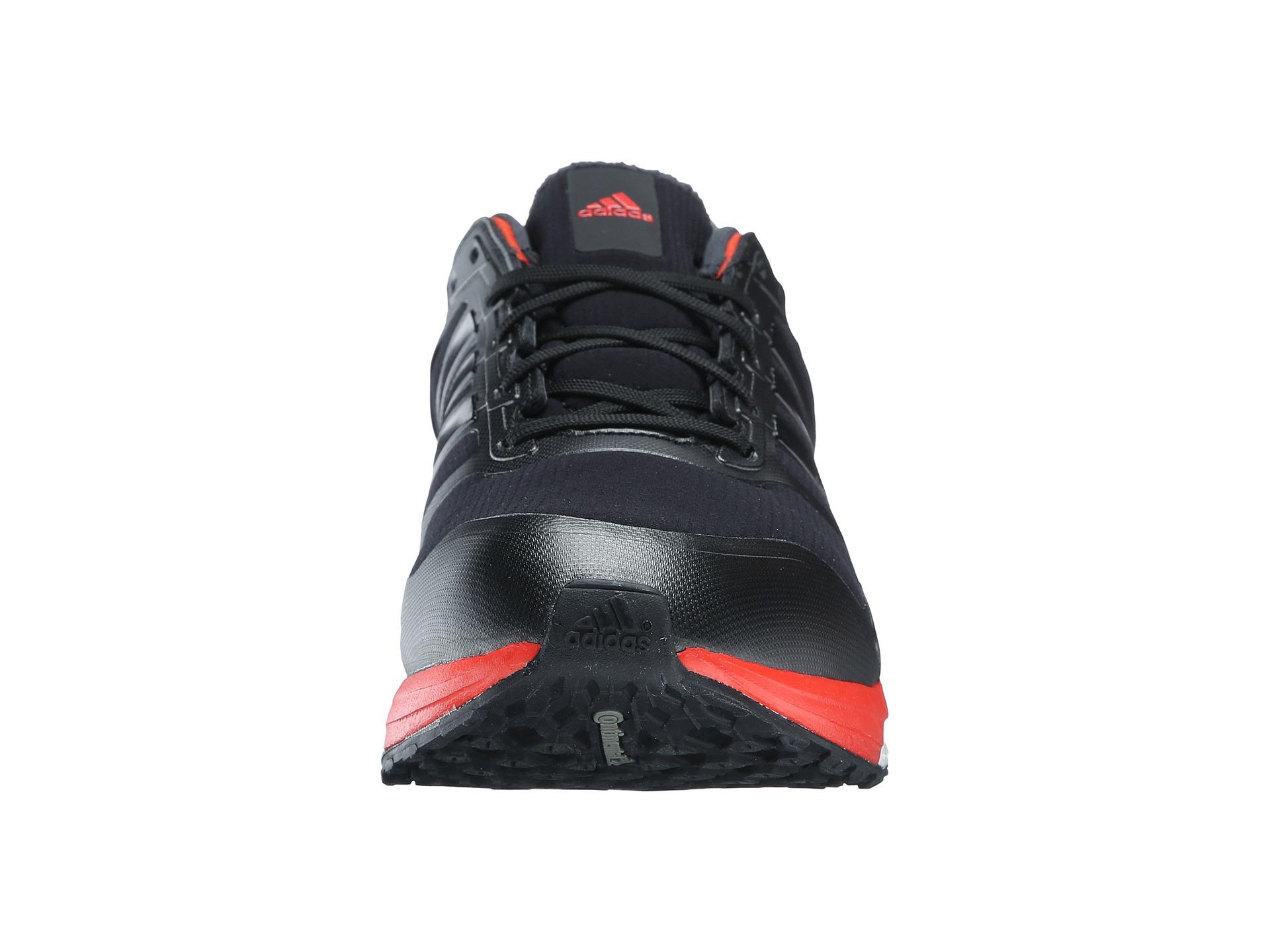 lyst adidas originali supernova glide 8 scarpe in nero per gli uomini.