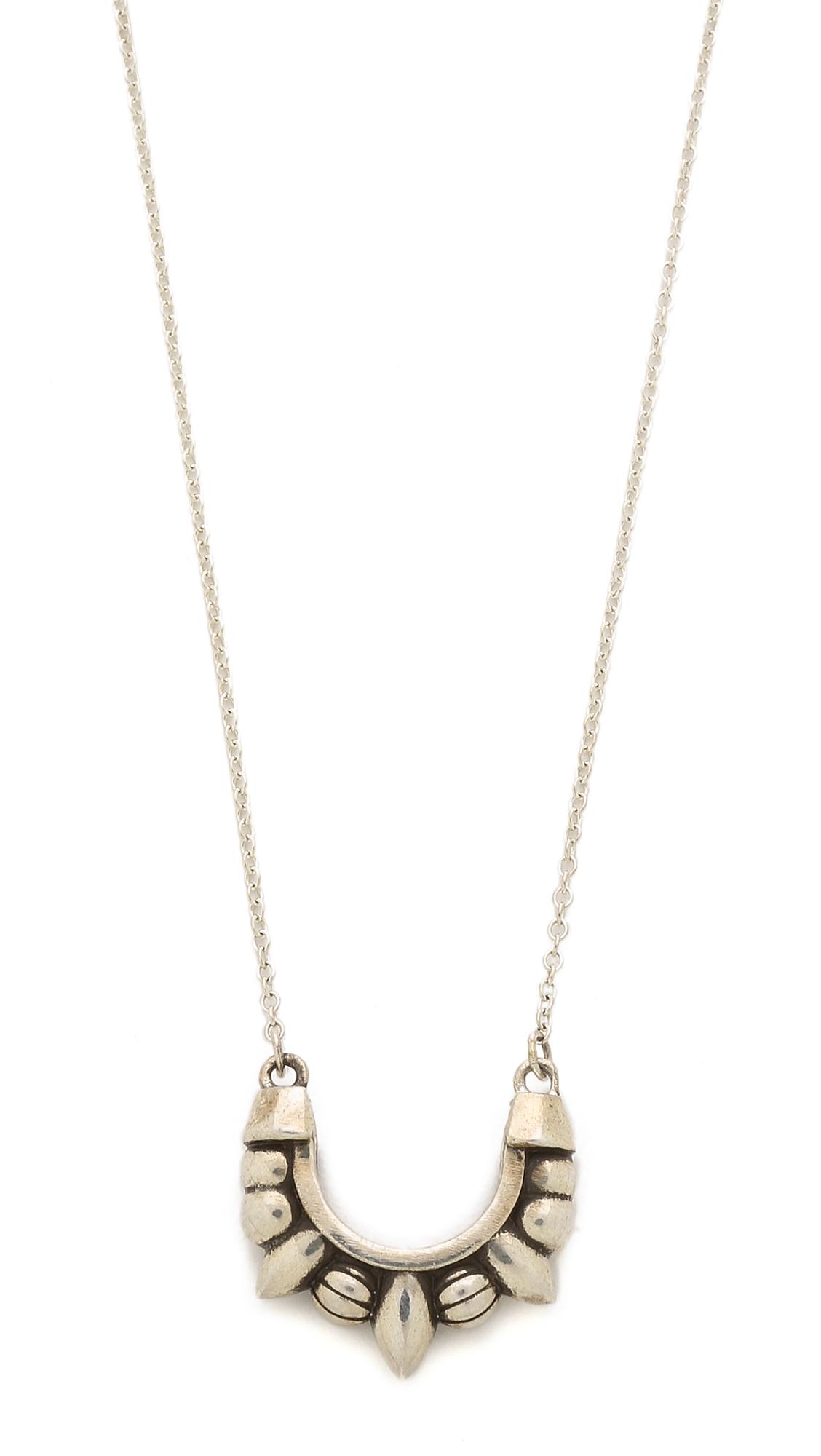 Womens Large Pendulum Pendant Necklace Pamela Love V09tGRnWI