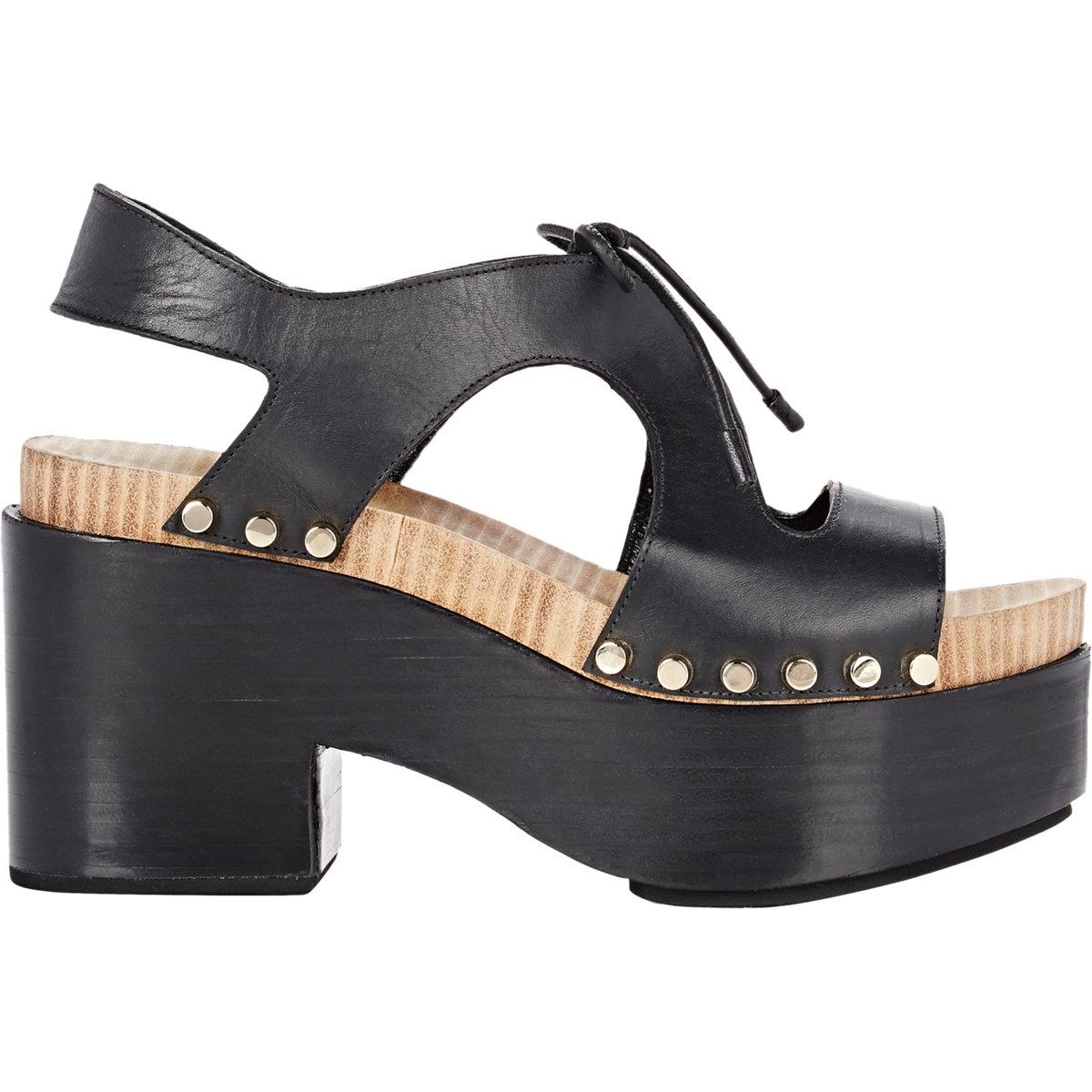 dceb05cd1e52 Lyst - Balenciaga Women s Platform Sandals in Black