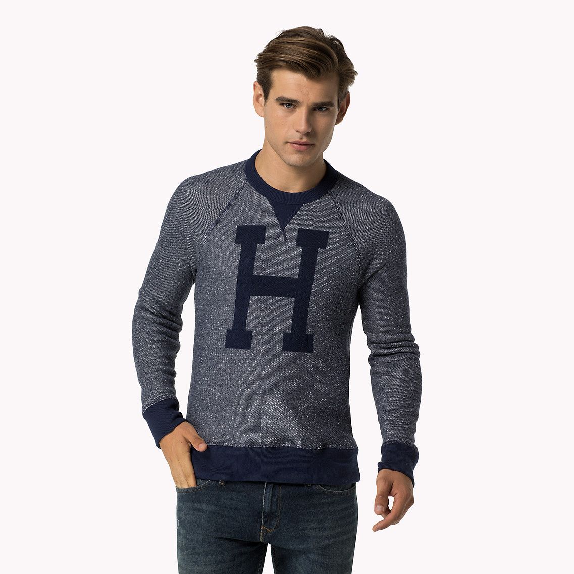 Tommy Hilfiger Sweater In Blue For Men Lyst