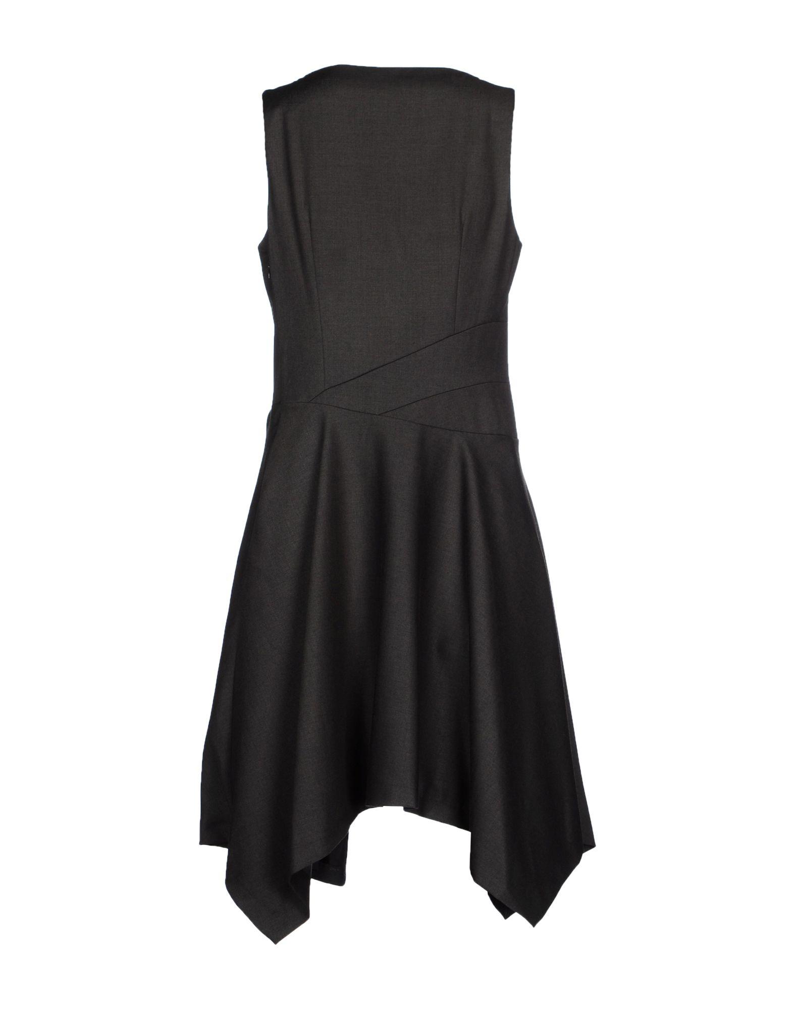 Mariagrazia Panizzi Knee Length Dress In Gray Lyst