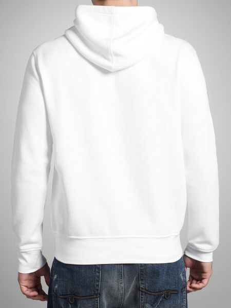polo ralph lauren big pony hoodie in white for men lyst. Black Bedroom Furniture Sets. Home Design Ideas