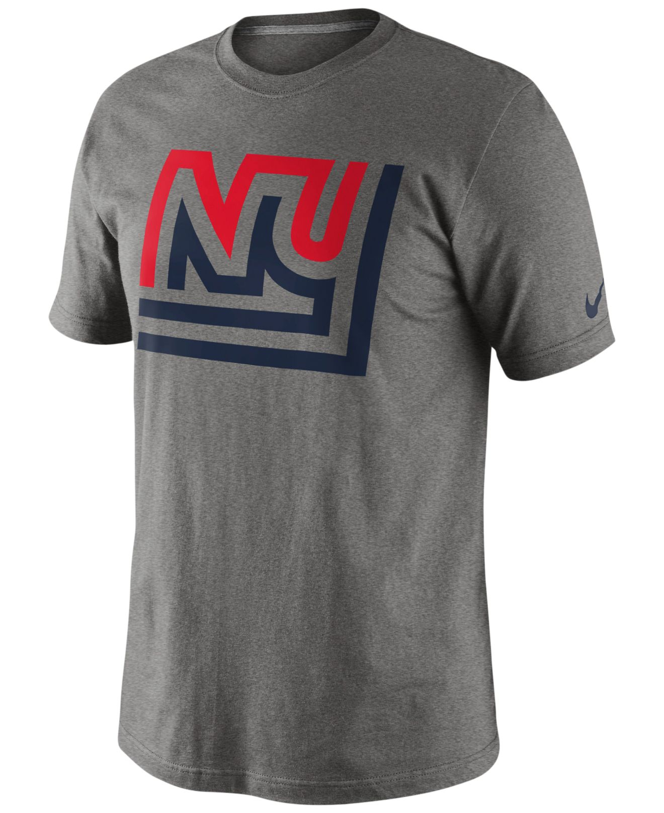lyst nike men 39 s new york giants retro oversized logo t