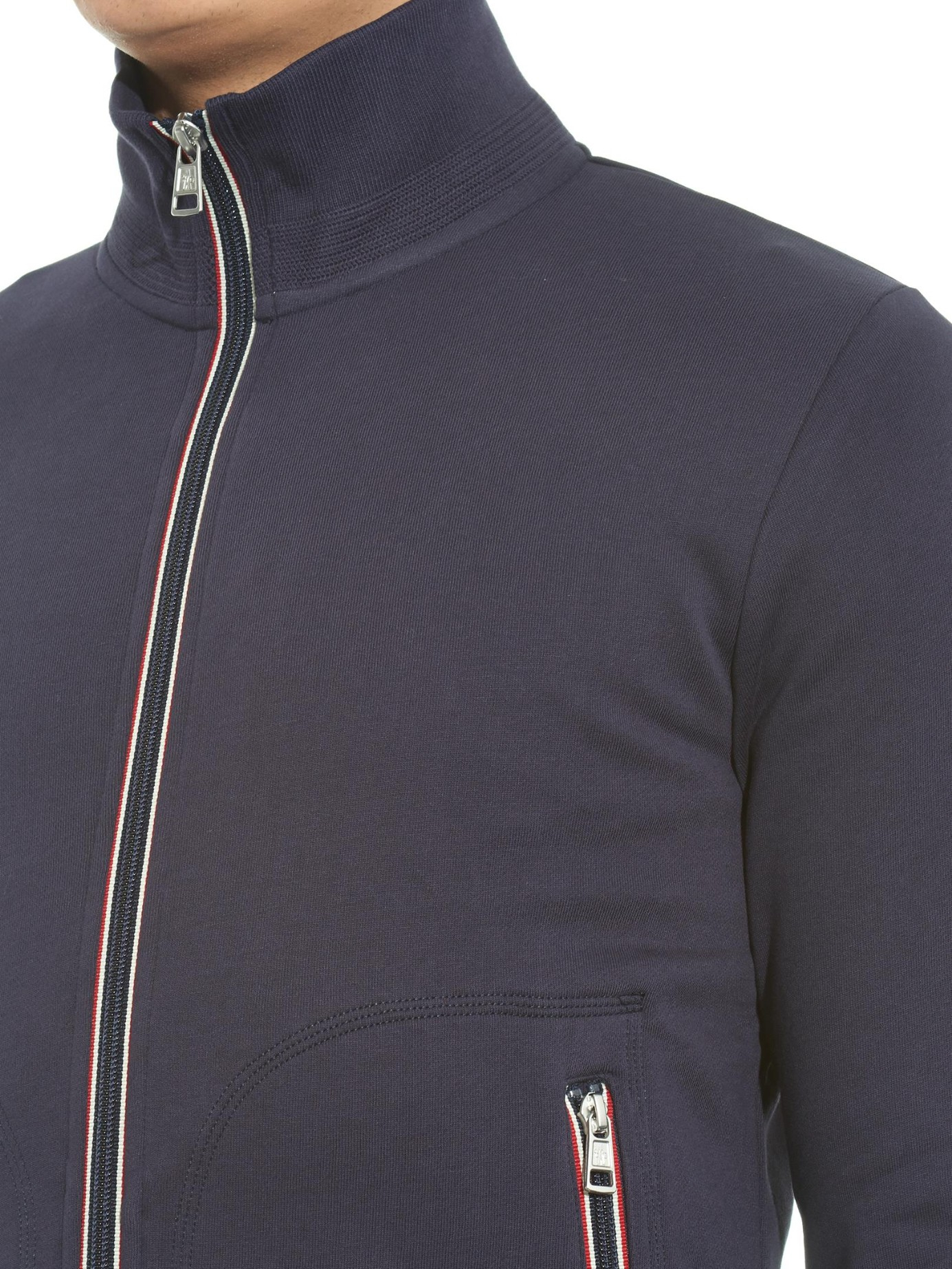 moncler sweatshirt blue
